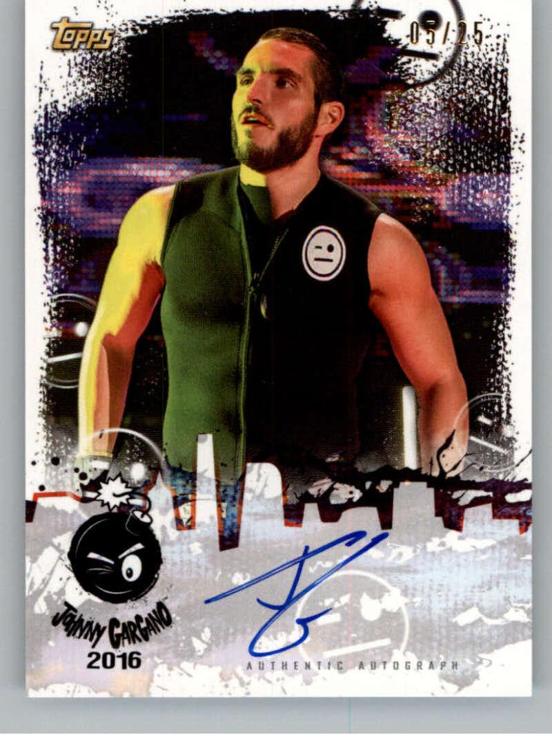 2020 Topps NXT Johnny Gargano Tribute Autographs