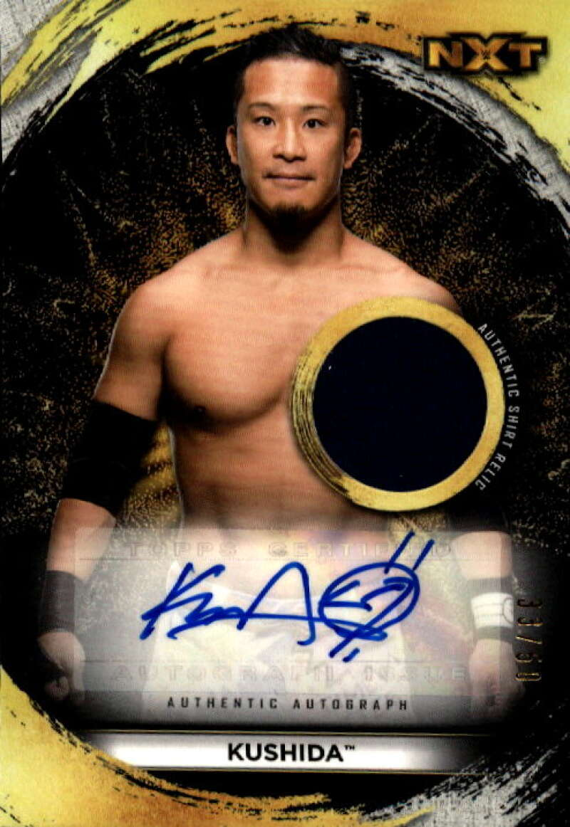 2020 Topps NXT Autographed Shirt Relics